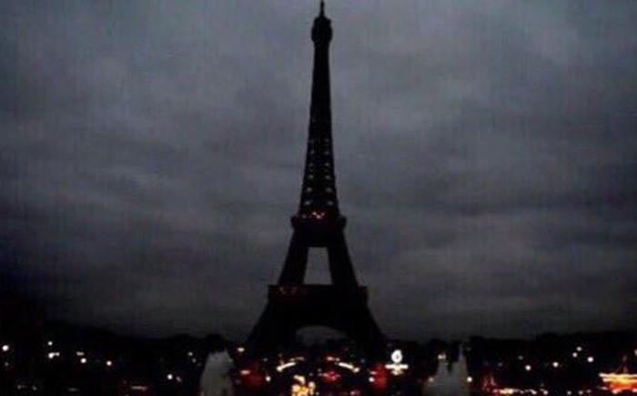 Eiffel Tower in Paris. PIcture: Twitter.