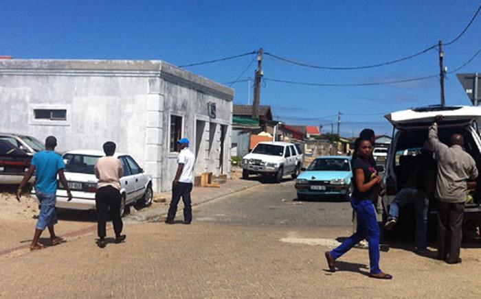 A Khayelitsha street where three men were stoned to death on 20 October 2013. Picture: Siyabonga Sesant/EWN