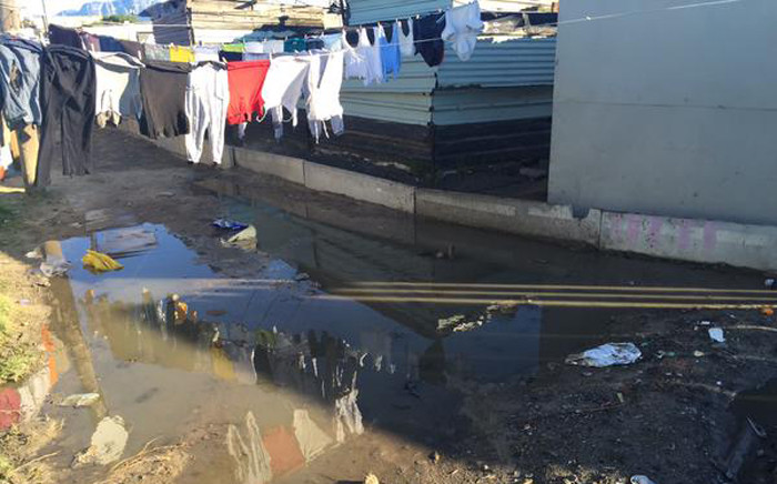 More than 1,300 people have been affected inclement weather in the Western Cape, with Khayelitsha being the worst affected. Picture: Xolani Koyana/EWN.