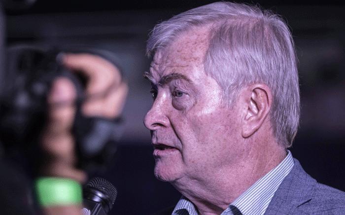 FILE: Freedom Front Plus leader Pieter Groenewald. Picture: Abigail Javier/EWN