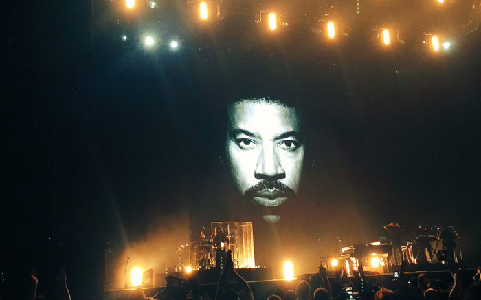 US singer Lionel Richie performed at the Ticketpro Dome in Johannesburg on 21 March 2016. Picture: @947 via Twitter.