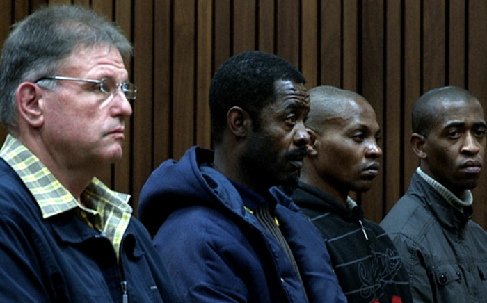 Ina Bonnette's attackers, Johan Kotze and three of his co-accused were found guilty of raping and mutilating her in the North Gauteng High Court on Monday. Sentencing was reserved. Picture: Sebabatso Mosamo/EWN
