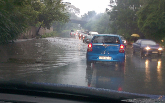 Heavy rains have persisted throughout Gauteng. Picture: iWitness.