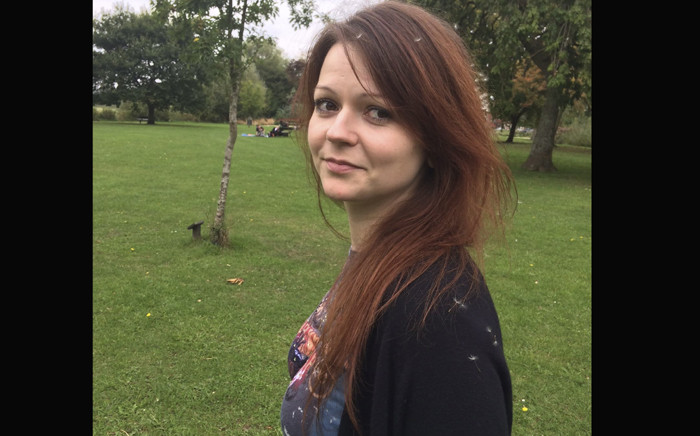 This undated image taken from the Facebook page of Yulia Skripal on 8 March 2018 allegedly shows Yulia Skripal, the daughter of former Russian spy Sergei Skripal, in an unknown location. Picture: AFP
