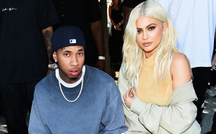 FILE: Tyga and Kylie Jenner. Picture: AFP.