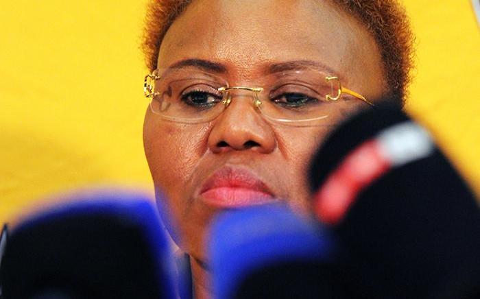FILE: Minister of Small Business Development, Lindiwe Zulu. Picture: Sethembiso Zulu/EWN.