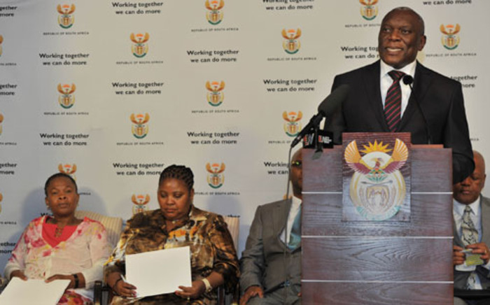 State Security Minister Siyabonga Cwele. Picture: GCIS