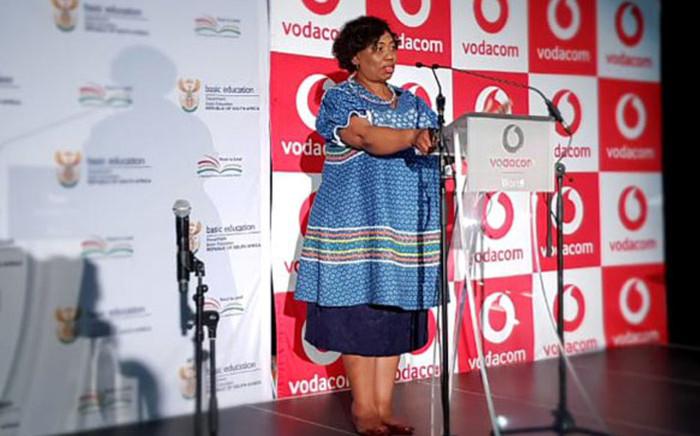 Basic Education Minister Angie Motshekga. Picture: @DBE_SA/Twitter