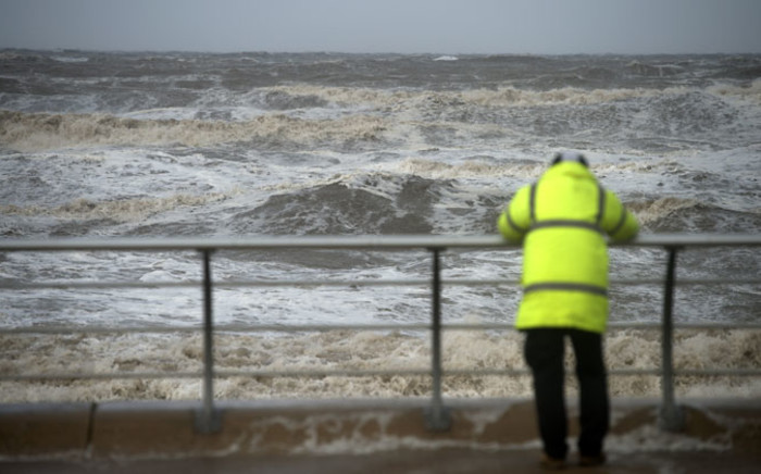 FILE: Stormy conditions in north-west England in October 21, 2014. Picture: AFP.