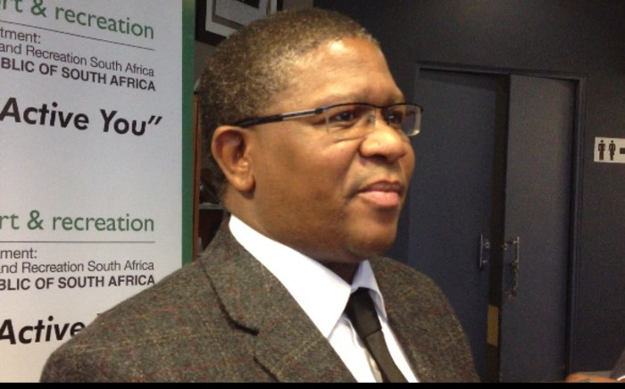 Sports Minister Fikile Mbalula. Picture: Marc Leiws/EWN.