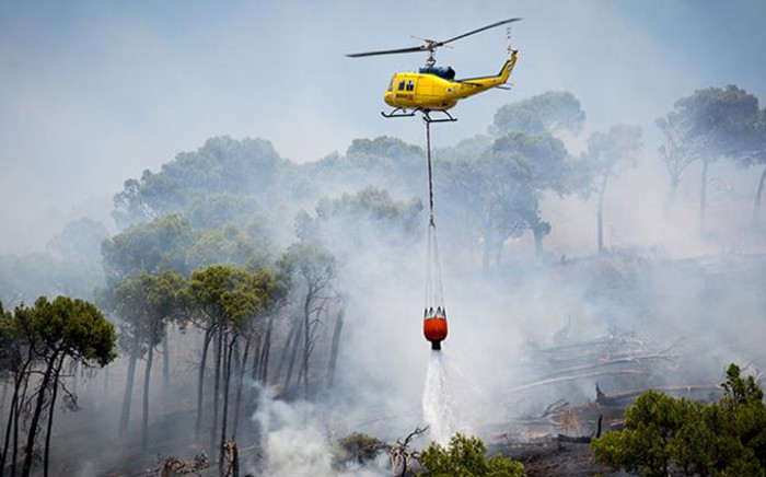 FILE: It's been a busy fire season so far, with about three times more fires reported on Table Mountain. Picture: Aletta Gardner/EWN