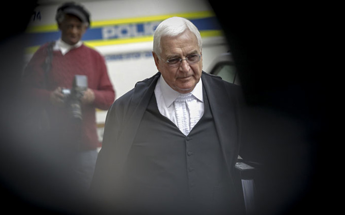Shrien Dewani's lawyer Francois Van Zyl arriving at the Western Cape High Court ahead of his murder trial on 13 October 2014. Picture: Thomas Holder/EWN.