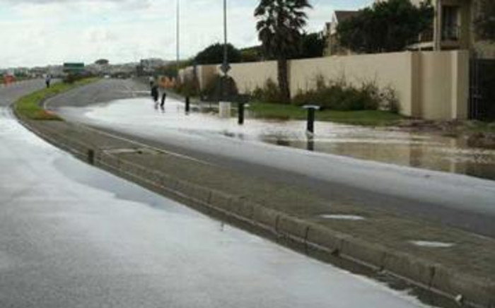FILE: Flooding in Cape Town. Picture: Supplied