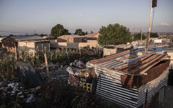 The informal settlement Juju valley in Polokwane, Limpopo. Picture: Abigail Javier/EWN