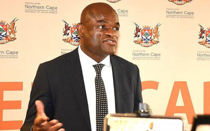 Northern Cape Premier Zamani Saul. Picture: @zsaul1/Twitter