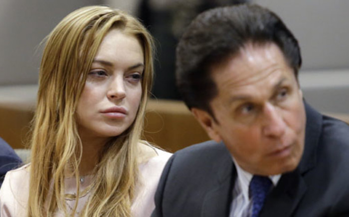FILE: American actress Lindsay Lohan. Picture: AFP.