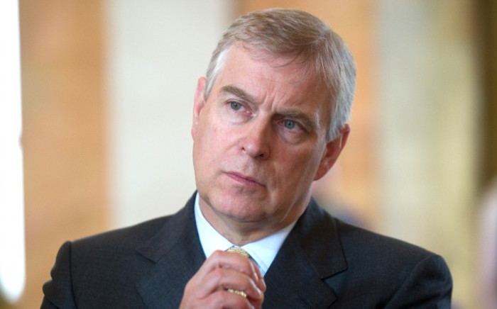FILE: Britain's Prince Andrew. Picture: AFP.