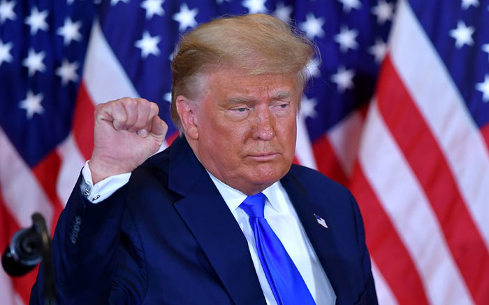 FILE: Senators -- who witnessed the events firsthand when they had to be rushed to safety that day -- watched raw footage of Trump's speech and the crowd's ensuing assault on the Capitol. Picture: AFP