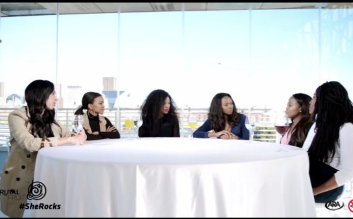 Brutal Fruit's #SheRocks round table discussion. Picture: Youtube Screengrab