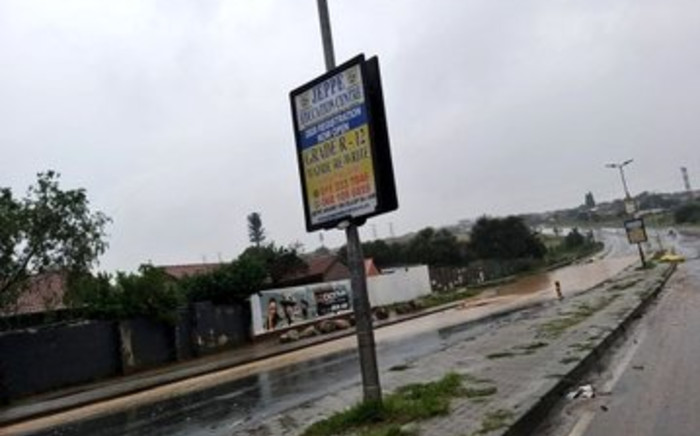 Flooding in Johannesburg on Saturday, 8 February 2020. Picture: Twitter/MyJRA
