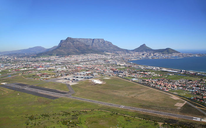 An aerial view of the Ysterplaat Air Force Base in Cape Town. Picture: AFB Ysterplaat/Facebook