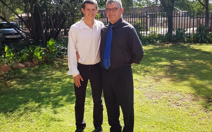 Johan Hebler and his 18-year-old son Nathan were shot in Vanderbijlpark on 2 February 2021 by an unknown man who later turned the gun on himself.  Picture: Supplied.