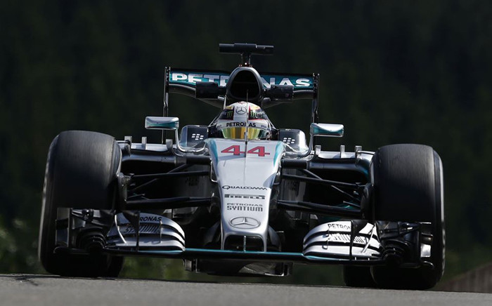 FILE. Formula One world champion Lewis Hamilton celebrated a dream Belgian Grand Prix victory on 23 August 2015. Picture: Lewis Hamilton/Facebook page.