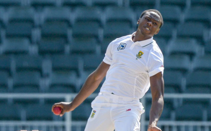 FILE: Proteas fast bowler Kagiso Rabada. Picture: @OfficialCSA/Twitter.