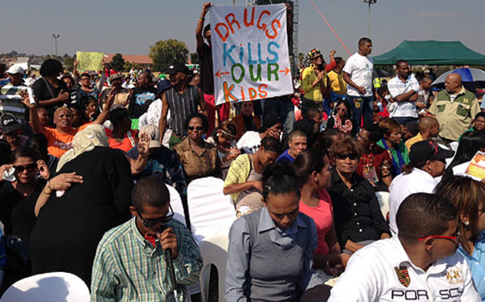 Eldorado Park residents raise concernce about substance abuse in the area. Picture: Sebabatso Mosamo/EWN.