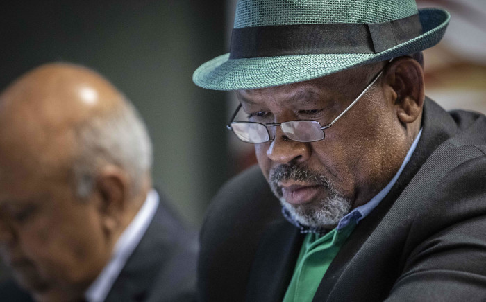 FILE: Eskom board chairperson Jabu Mabuza at a press briefing at Lethabo power station. Picture: Abigail Javier/EWN