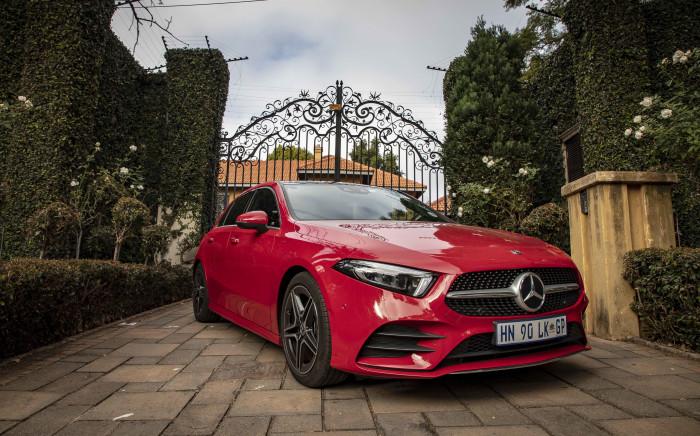 Mercedes-Benz A200. Image: EWN/Thomas Holder