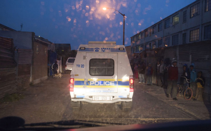 FILE: Police and other law enforcement officials are on high alert in the Cape Town suburb of Manenberg. Picture: AFP