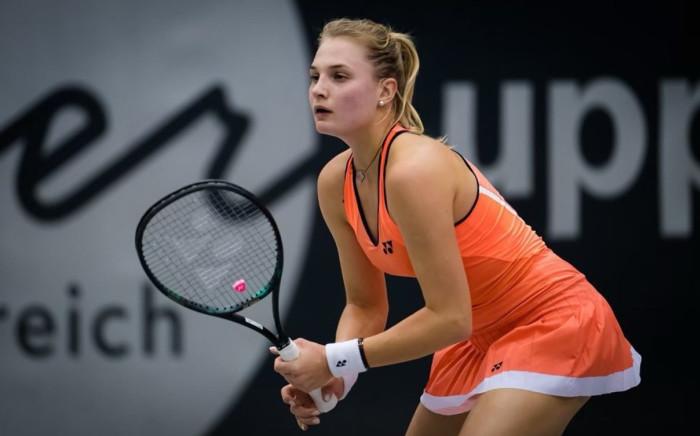 Ukrainian tennis player Dayana Yastremska. Picture: @D_Yastremska/Twitter.