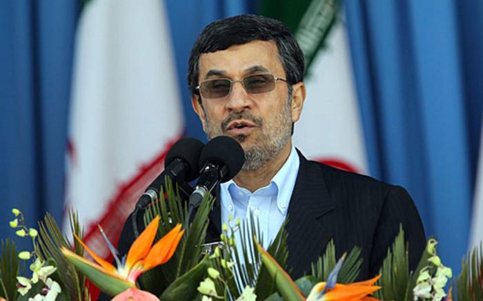 Iran President Mahmoud Ahmadineja. Picture: AFP