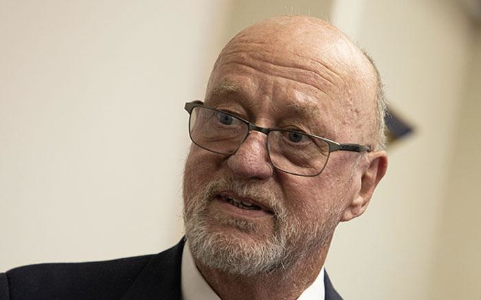 FILE: Derek Hanekom pictured at the Durban High Court on 23 August 2019. Picture: EWN