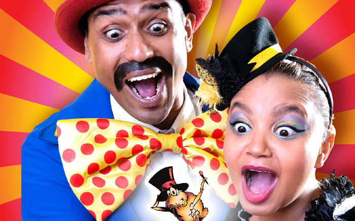 Rowin Munsamy and Shona Johnson in 'Copy Dog's Fantastical Flea Circus' that will be showing at the National Arts Festival.Picture: National Arts Festival