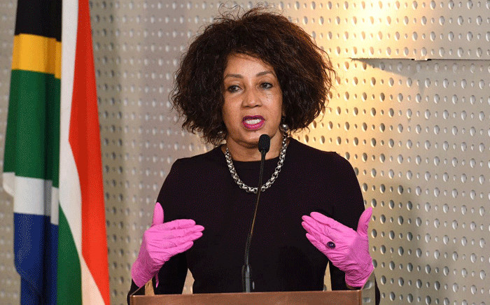 FILE: Minister of Human Settlements, Water & Sanitation Lindiwe Sisulu. Picture: GCIS
