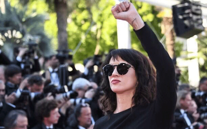 FILE: Italian actress Asia Argento at the Cannes Film Festival. Picture: @AsiaArgento/Twitter