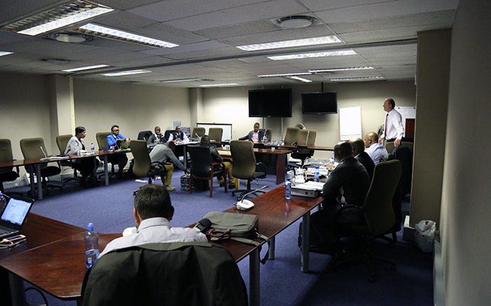 The disciplinary hearing of Gauteng Hawks boss Shadrack Sibiya in Pretoria on 10 June 2015. Picrure: Reinart Toerien/EWN