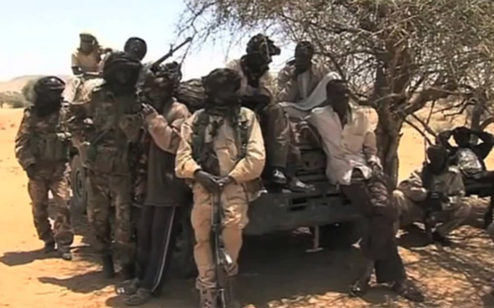 FILE: Government militia in Darfur in 2013. Picture: Supplied.