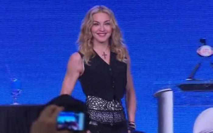 US singer Madonna. Picture: CNN.