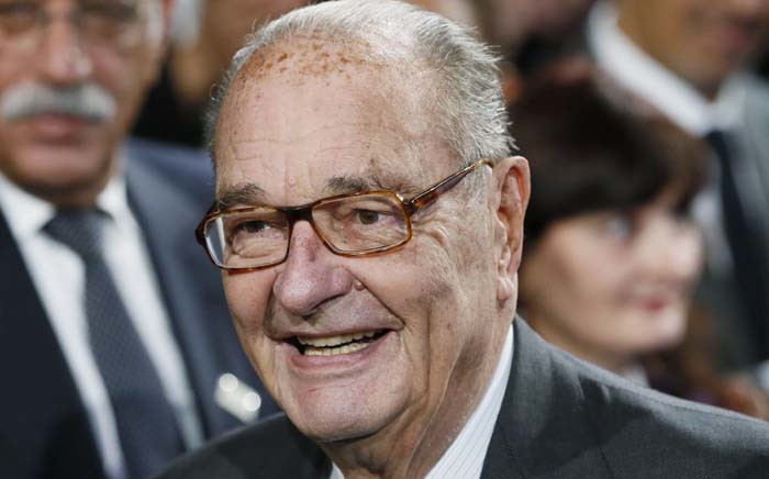 FILE: In this file photo taken on 21 November 2014 former French President Jacques Chirac attends the award ceremony of the Jacques Chirac Foundation at the Quai Branly museum in Paris. Former French President Jacques Chirac died at the age of 86, it was announced on 26 September 2019. Picture: AFP.