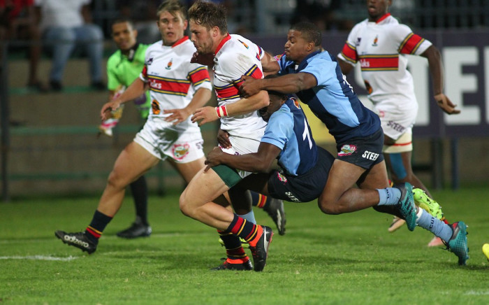 Tuks beat CUT 54-26 during the Varsity 7s tournament. Picture: @varsitycup/twitter.