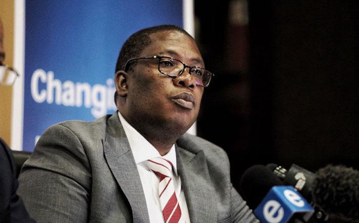 FILE: Gauteng Education MEC Panyaza Lesufi briefs the media on 14 January 2020 on the status of school admissions for the new academic year. Picture: Kayleen Morgan/EWN