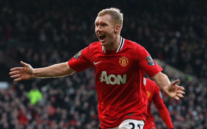 FILE: Manchester United legend Paul Scholes. Picture: AFP.