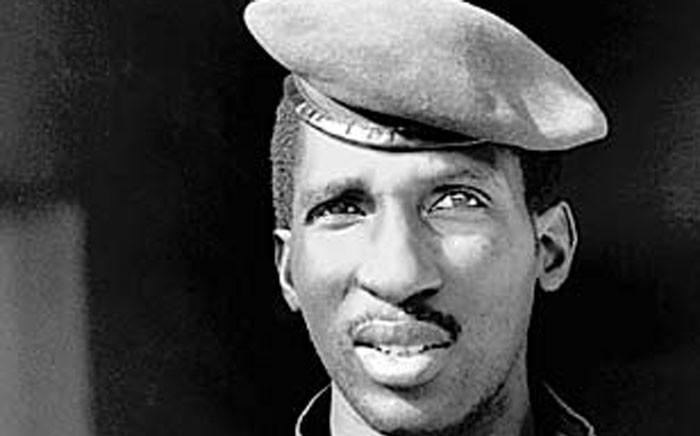 Former Burkina Faso president Thomas Sankara. Picture: Wikipedia.