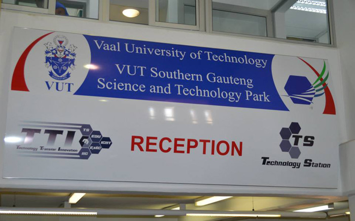 Vaal University of Technology reception centre. Picture: VUT Facebook page.