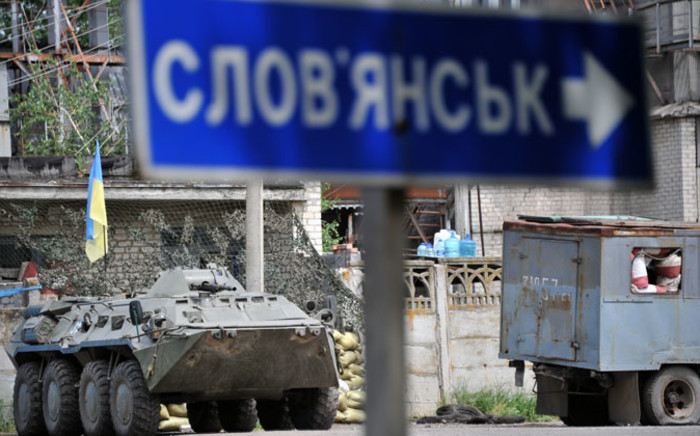 FILE: Pro-Russian separatists shot down a Ukrainian army helicopter on Thursday, killing 14. Picture: AFP.