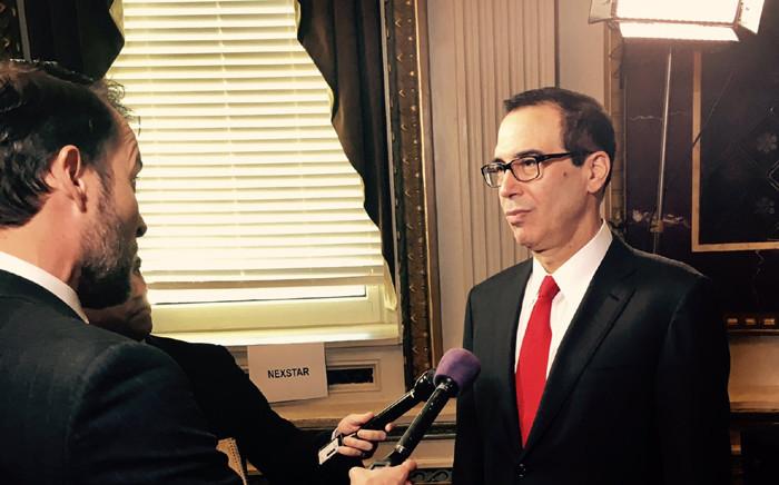 US Treasury Secretary Steven Mnuchin. Picture: @stevenmnuchin1/Twitter.