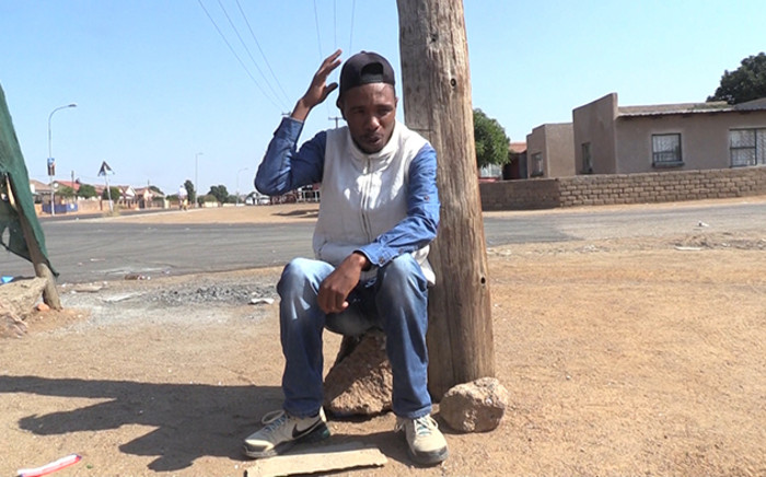 A survivor of the Hammanskraal attack on security guards and red ants says he ran for his life while his friends were being killed. Picture: Vumani Mkhize/EWN.